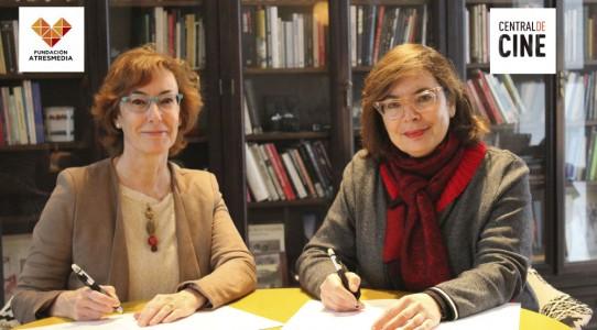 Eva Lesmes y Carmen Bieger