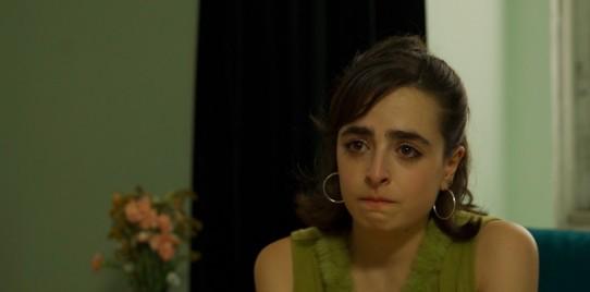 Lucía Quinteiro en su papel en el corto Disfrútame