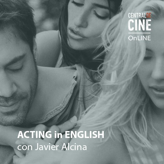 ACTING IN ENGLISH - ONLINE